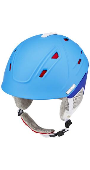 UVEX p2us WL skihelm Dames blauw